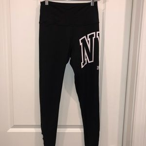 Black Victoria's Secret Pink NYC Ultimate Leggings